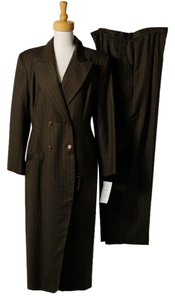 Lily &Taylor NWT Lilly & Taylor 100% Wool Double Dressed Collar Career Formal Pants Suit Sz 18