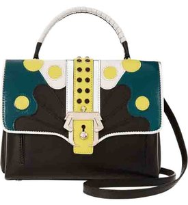 Paula Cademartori Petite Faye Designer Handbag Leather Shoulder Bag