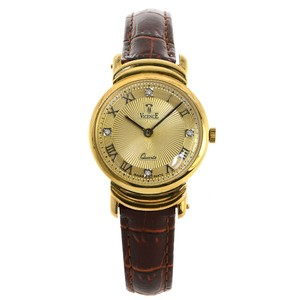Vicence Milor Vicence Milor 585 Men Watch Italy 14k Yellow Gold Quartz
