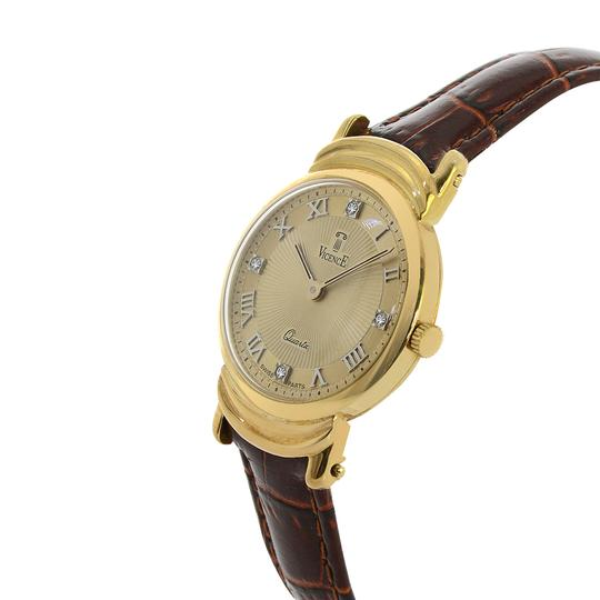 Vicence Milor Vicence Milor 585 Men Watch Italy 14k Yellow Gold Quartz Image 2