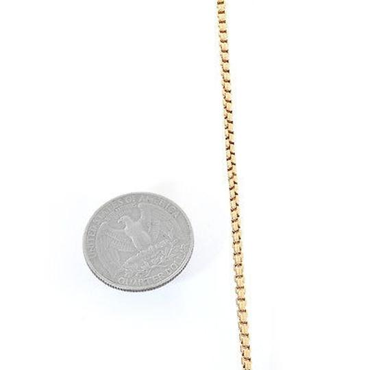 Avital & Co Jewelry 2.0 mm 14K Yellow Gold Box Link Chain Necklace Image 2