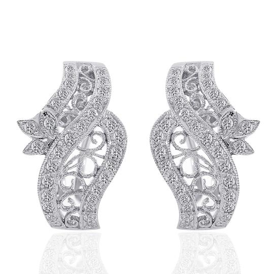 Preload https://img-static.tradesy.com/item/11013181/avital-and-co-jewelry-white-gold-075-carat-diamond-crossover-j-hoop-filigree-rope-18k-wg-earrings-0-1-540-540.jpg