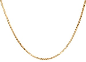 Avital & Co Jewelry 2.2 Mm 14k Yellow Gold Box Link Chain Necklace