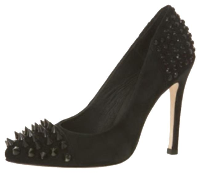 Court Studded Pumps Size US 7 Regular (M, B) Court Studded Pumps Size US 7 Regular (M, B) Image 1