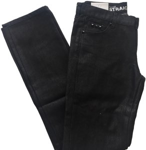 New York & Company Low Rise Studded Size 0 Straight Leg Jeans-Coated