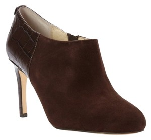 Michael Kors Ankle Boots New High Heel Boots Booties Coffee Platforms