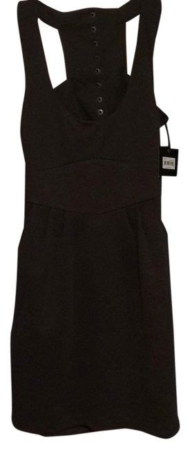 Item - Heather Snap Above Knee Short Casual Dress Size 8 (M)
