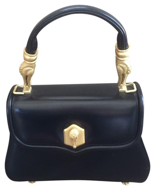 Barry Kieselstein-Cord Classic Black Leather Cross Body Bag Barry Kieselstein-Cord Classic Black Leather Cross Body Bag Image 1
