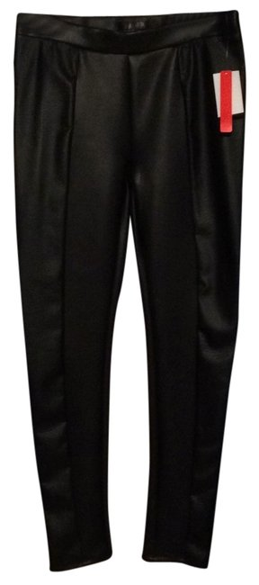 Preload https://img-static.tradesy.com/item/11015665/fire-blac-faux-leather-skinny-pants-size-8-m-29-30-0-1-650-650.jpg