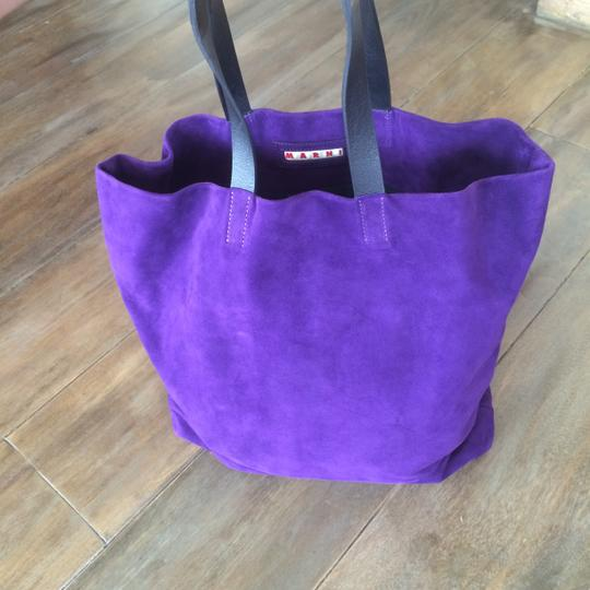 Marni Tote in Purple Image 4