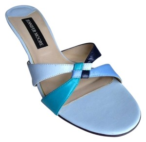 Jennifer Moore Blue, Turquoise Sandals