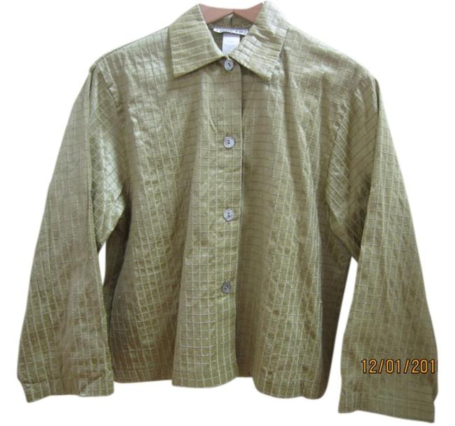 Preload https://img-static.tradesy.com/item/11016121/avocado-green-designer-textured-raw-silk-boxy-top-w-mother-of-pearl-buttons-size-8-m-0-1-650-650.jpg