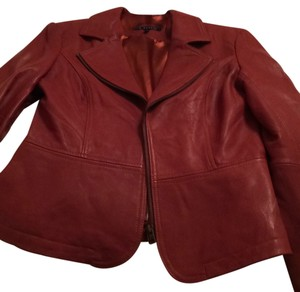 In Suede Leather Leather Coat Leather Coat Rust Leather Jacket