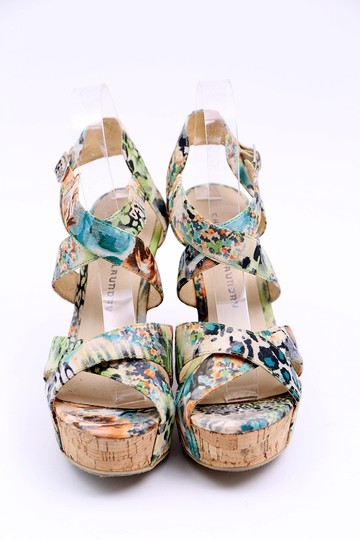 Chinese Laundry Wedge Danger Game Sandal Multicolor Platforms Image 1