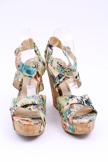 Chinese Laundry Wedge Danger Game Sandal Multicolor Platforms Image 2