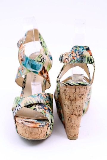 Chinese Laundry Wedge Danger Game Sandal Multicolor Platforms Image 3