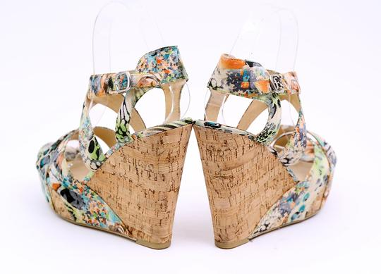 Chinese Laundry Wedge Danger Game Sandal Multicolor Platforms Image 6