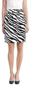 Banana Republic Skirt Zebra Print