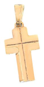 Avital & Co Jewelry 14k Yellow Gold Cross Pendant