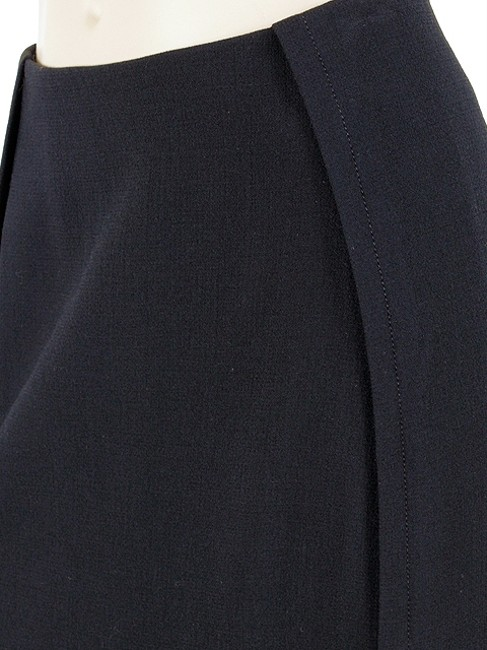 Sportmax Wool Maxi Skirt Blue, Black