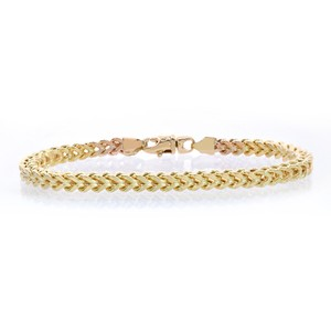 Avital & Co Jewelry 4.4mm 10k Yellow Gold Franco Bracelet