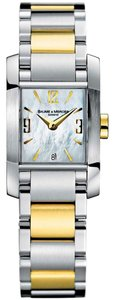 Baume & Mercier Baume & Mercier Womens 8600 Diamant Steel and 18k Gold Watch
