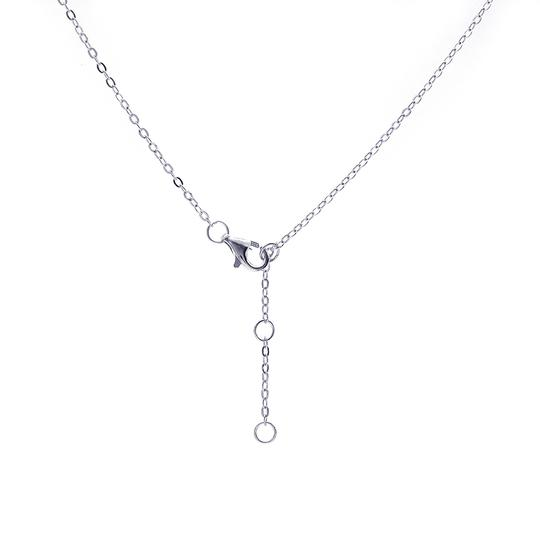 Avital & Co Jewelry 0.10 Carat Look Infinity Pendant In Sterling Silver And Cubic Zirconia Image 4
