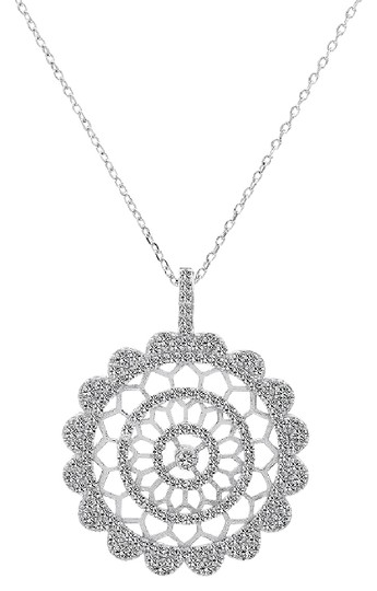 Preload https://img-static.tradesy.com/item/11019277/avital-and-co-jewelry-white-gold-150-carat-cubic-zirconia-in-sterling-silver-pendant-with-chain-neck-0-2-540-540.jpg