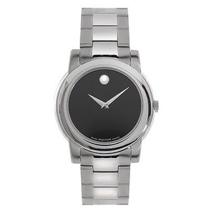 Movado Movado Junior Sport Mens Black Museum Dial Swiss Quartz Watch 0605746