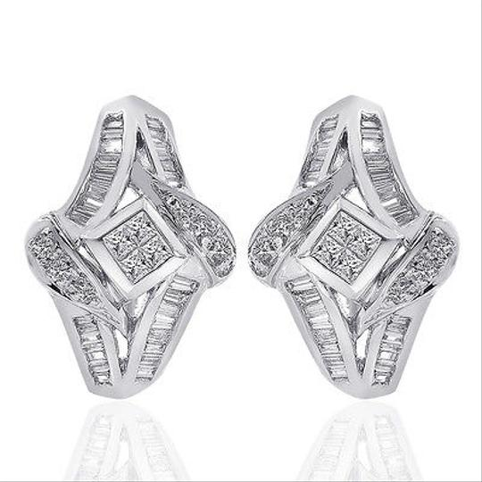 Preload https://img-static.tradesy.com/item/11019736/avital-and-co-jewelry-white-gold-100-carat-diamond-cascading-cluster-j-hoop-14k-earrings-0-0-540-540.jpg
