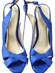 Charlotte Russe Blue Wedges