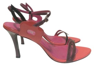 Carlos by Carlos Santana Pink and Purple Sandals