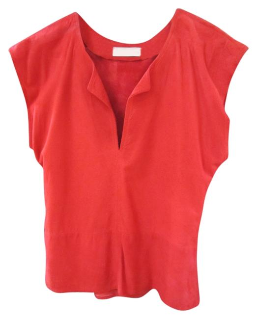 Preload https://img-static.tradesy.com/item/11021056/red-suede-short-tunic-size-10-m-0-1-650-650.jpg