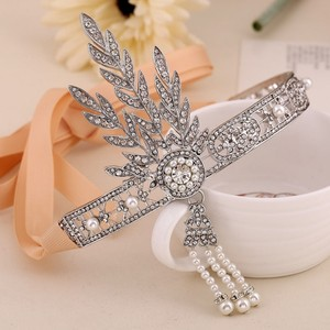 Vintage Great Gatsby Flapper Tiara Crown