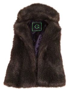 C. Wonder Fur Faux Fur Vest