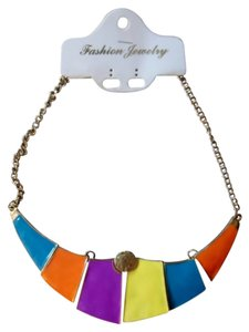 Other New Multi Color Statement Necklace