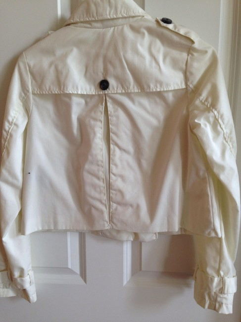 Divided by H&M Buttons Cropped Pockets Raincoat Image 1