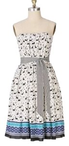 Anna Sui Patterned Deer Casual Short Dress