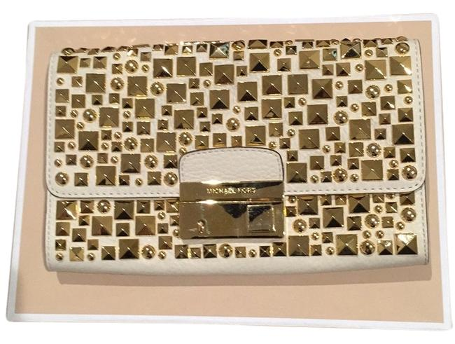 Item - Cream Leather Clutch