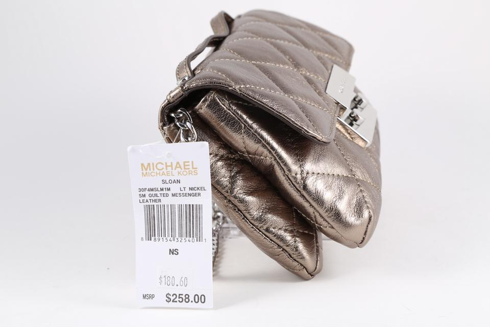 8d8f9ed6e ... wallets wallet smahocase wallet shopping bag 35S6MELZ3Z NICKEL nickel  gun iPhone6s case ... Michael Kors Nickel Messenger Bag .