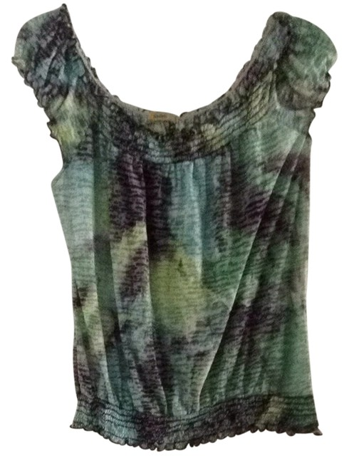 Other T Shirt Green Multi