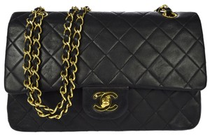 Chanel Doubleflap Leather Shoulder Bag