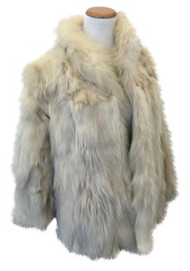 Fur Winter Soft Ash white Jacket