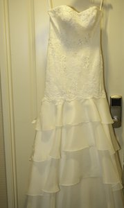 Melissa Sweet Brand New Melissa Sweet Wedding Dress Size 10 Only Been Worn One Night