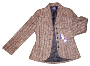 Pendleton Coral, brown and gold Blazer