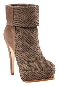 Dolce Vita Snakeskin Suede Bootie Boots