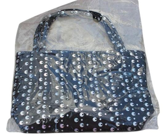 Other Girls Black Sequin Handbag Tote Style Bag NEW Sequined