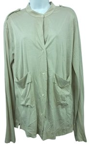 James Perse Jersey Cotton Top TAN
