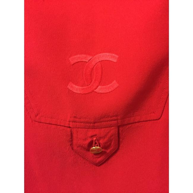 Chanel Top Red Image 1