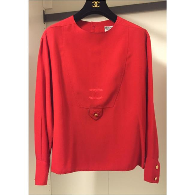 Chanel Top Red Image 3